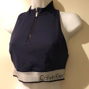 calvin klein performance sports bra